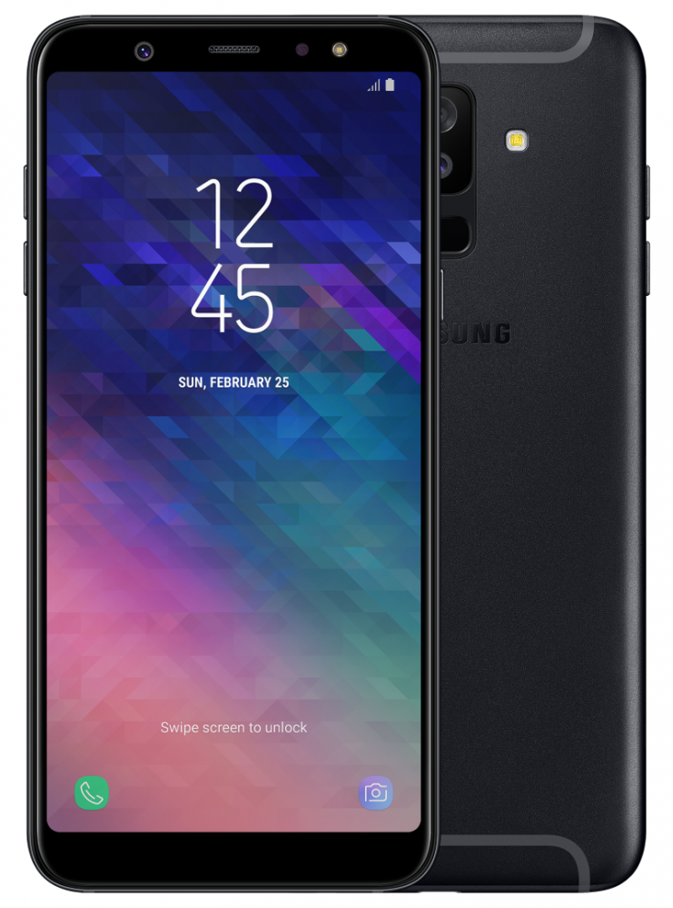 samsung-A6Plus-black